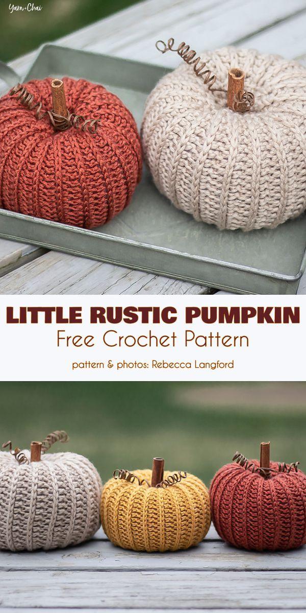 It's Pumpkin Time! Free Crochet Patterns