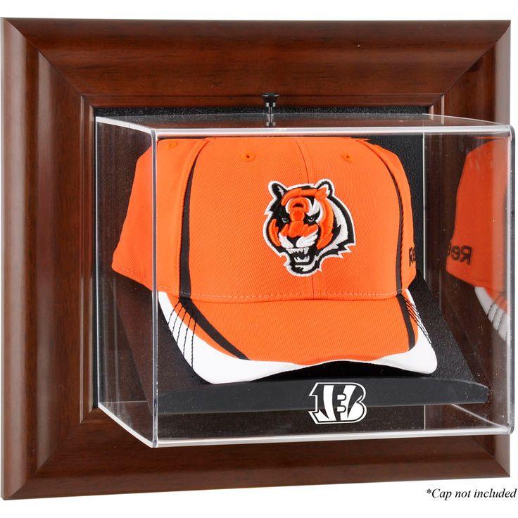 Cincinnati Bengals Fanatics Authentic Brown Framed Cap Case - $69.99