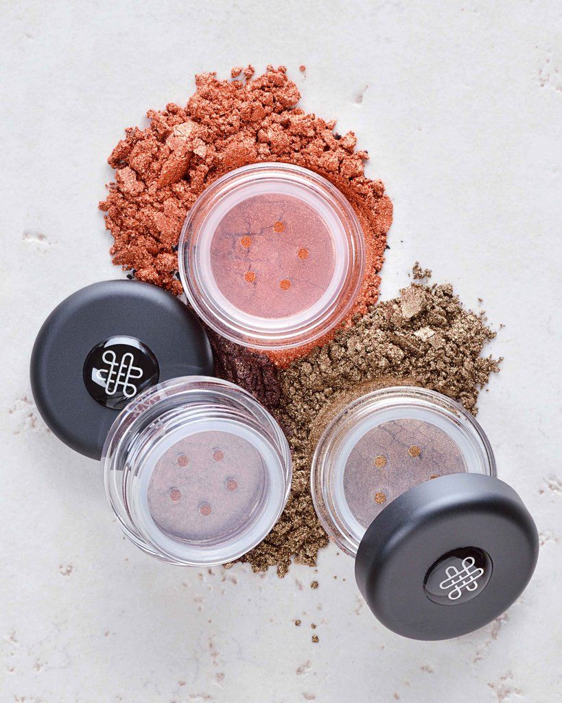 Two-Ingredient Loose Powder Shimmer Eyeshadows - No Titanium