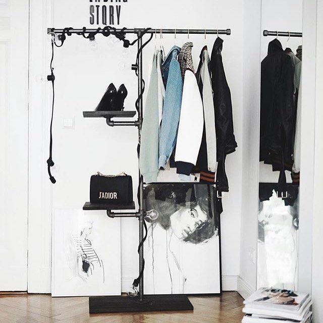 #rackbuddydalton styled by @masha  #perfect #styling #homestyling #instagood #blogger #germany #rackbuddy #industrial #design #interiordesign #interiør #garderobe #boligindretning #boliginspiration #inspiring #home #decor #creativity #tøjstativ #kleider #kleiderständer #clothesrack