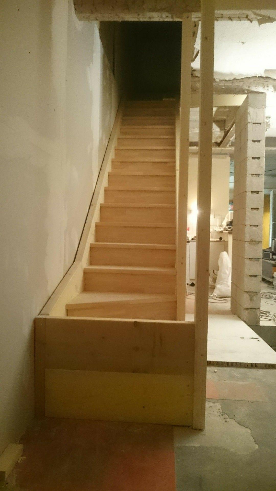 Escalier Bois Pin Evea Avec Images Escalier Bois Fait