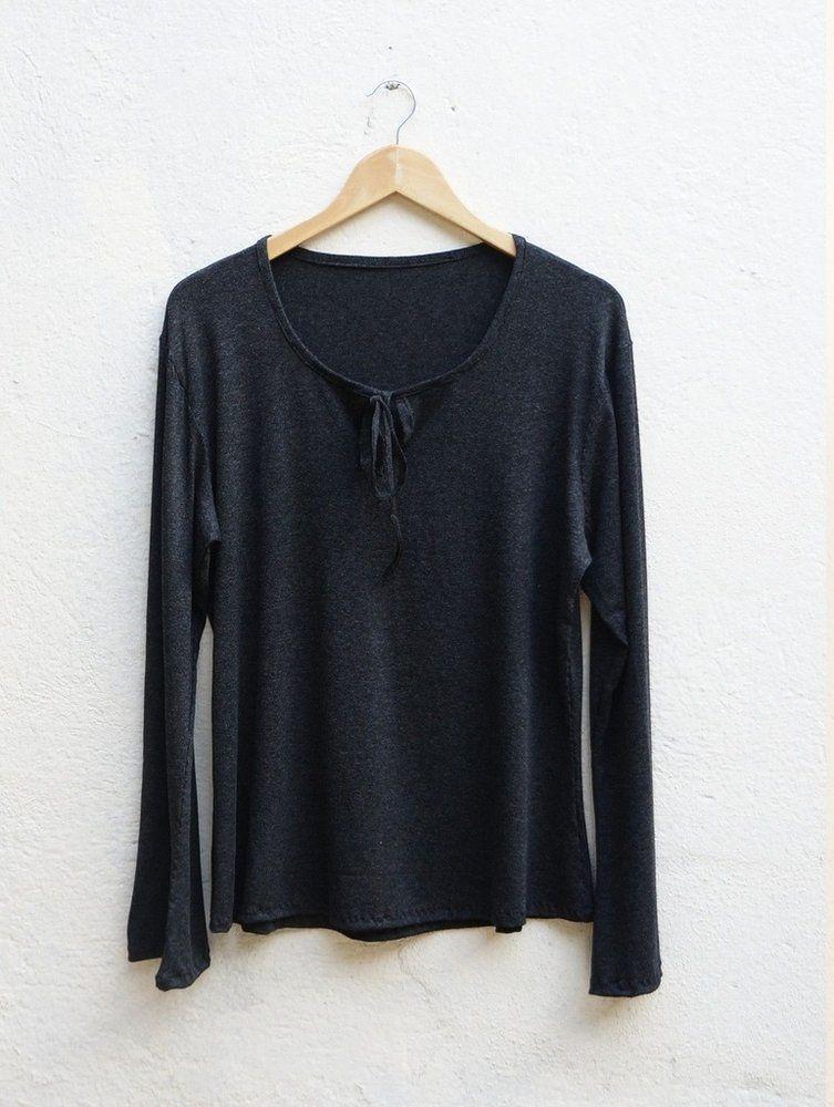 ed9760232 blusa feminina lisa bata manga longa - Handmade - moda sob medida ou pronta  entrega