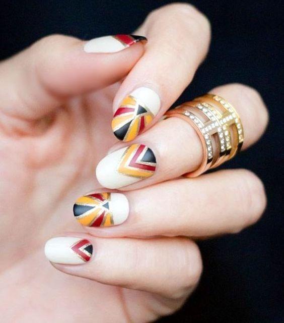 40 Beautiful Thanksgiving Nail Art Designs For Fall Season