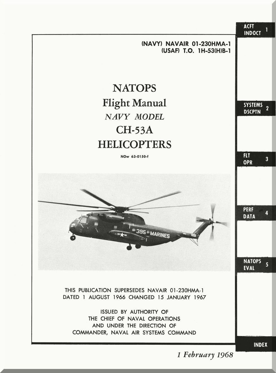 sikorsky ch 53 a helicopter flight manual rh pinterest co uk Helicopter Flight Controls with Collective Helicopter Simulator Controls