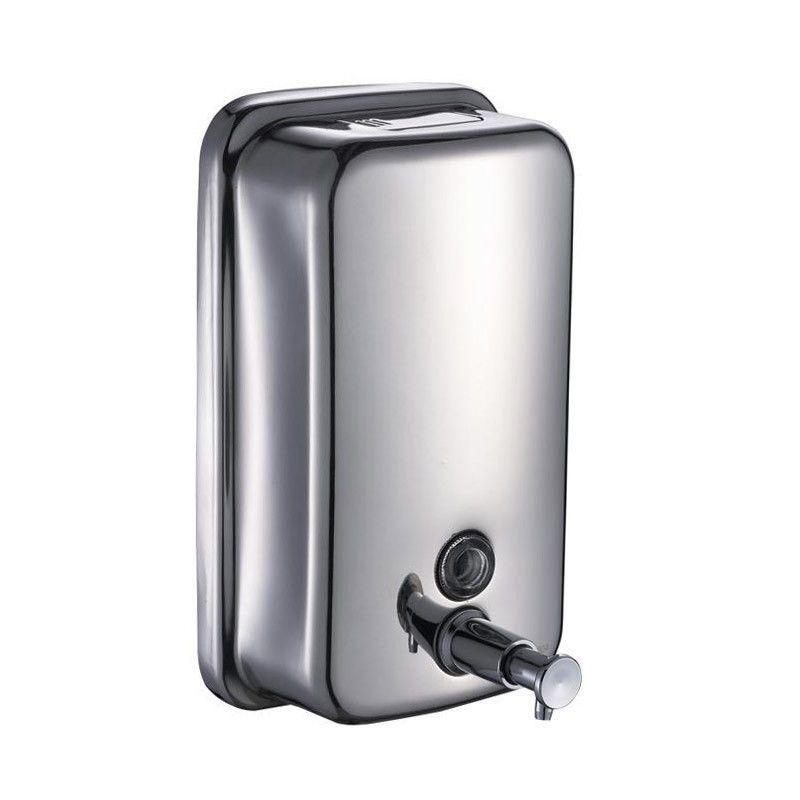 stainless steel bathroom liquid soap dispenser shampoo box 500ml rh pinterest com stainless steel foaming soap dispenser bathroom accessories stainless steel foaming soap dispenser bathroom accessories