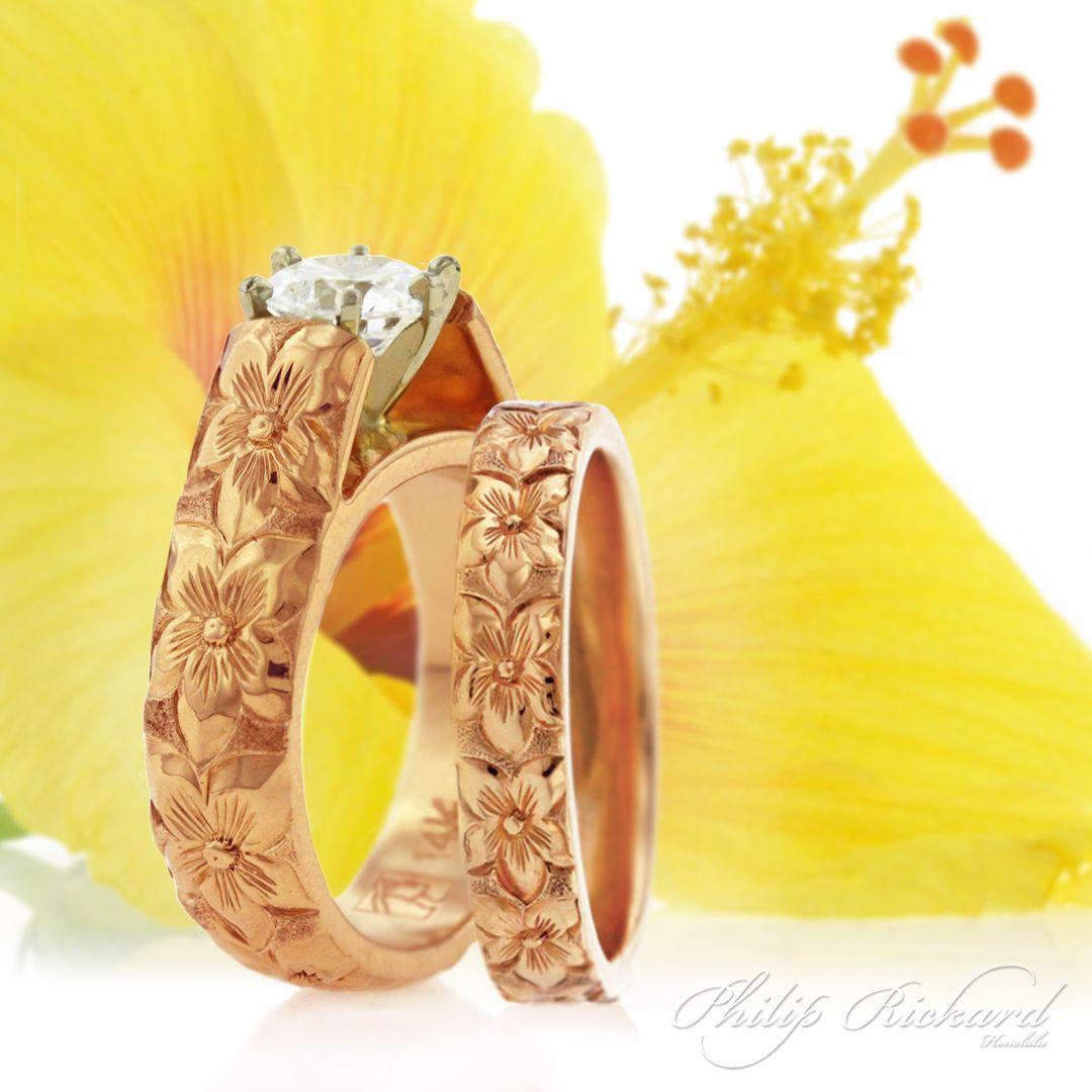 Hawaiian Wedding Rings Hawaiian Jewelry Hawaiian Wedding Rings