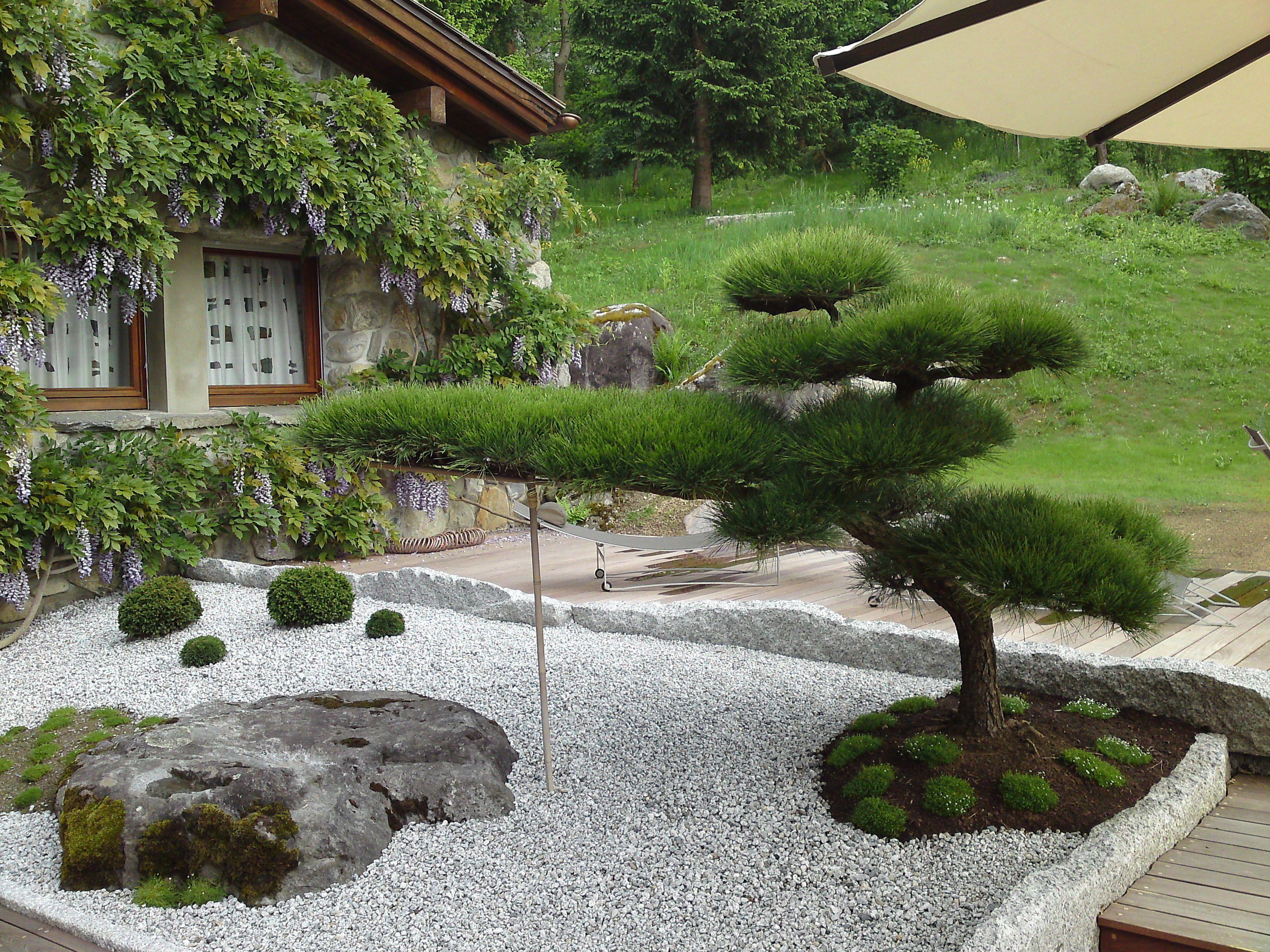 jardin jardin japonais pinterest jardins zen et vegetal. Black Bedroom Furniture Sets. Home Design Ideas