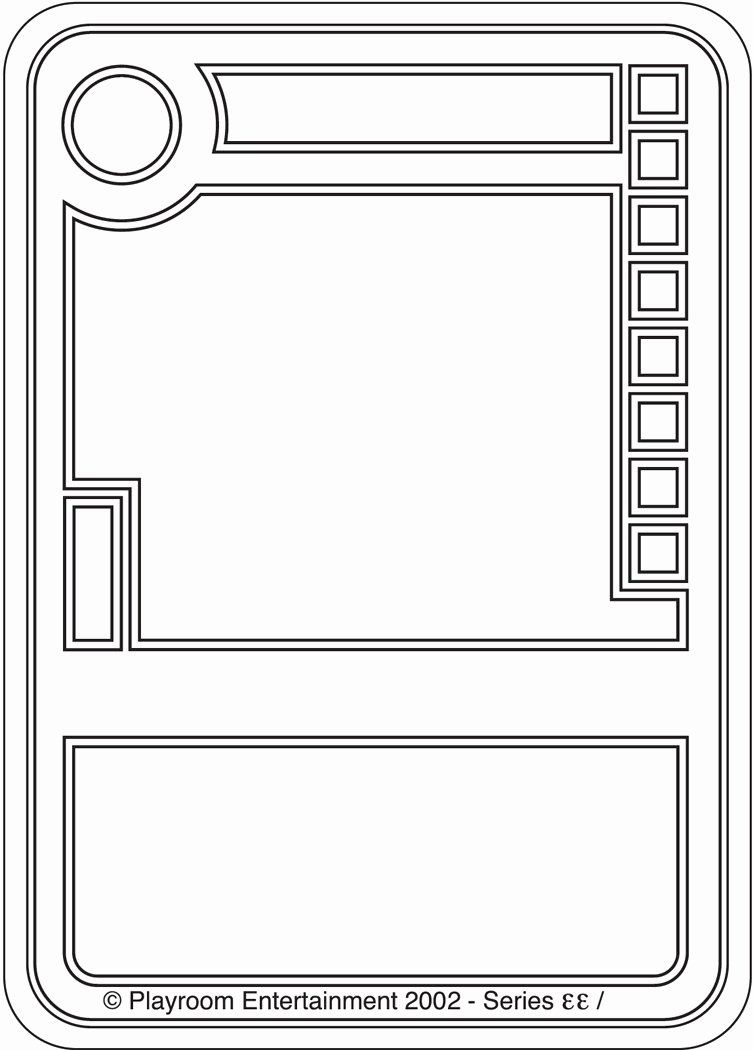 Trading Card Template Free in 2020 | Trading card template