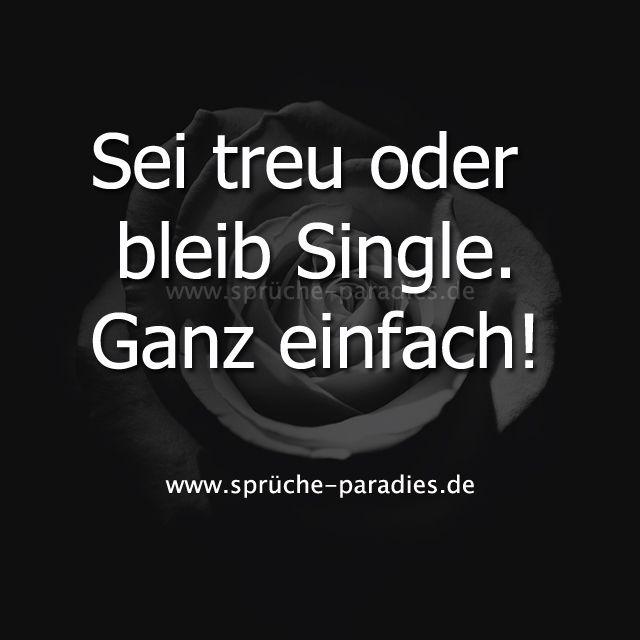 Singles treuen