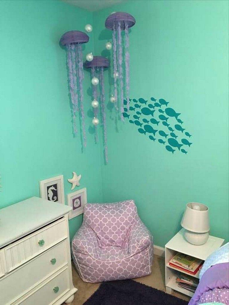 8 Marvelous Under The Sea Decorating Ideas Kids Would Love Underwater Sea Decoratingideas Bedroom Themes Mermaid Decor Bedroom Mermaid Room Decor