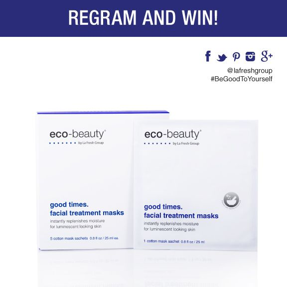 This is a super limited time offer so make sure you're ready to follow these steps to enter for a chance to win one of our coveted Facial Treatment Masks from our new #BeGood line!!  1-follow us on Instagram http://instagram.com/lafreshgroup 2- regram this image using #BeGoodToYourself  3-hurry!! You have 48 hours   *TWO winners will be announced on 9/11  **Contest open to US residents only Good luck!  #regramandwin