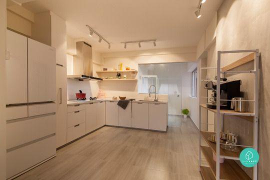15 Amazing Resale Home Renovations In Singapore Small Kitchen Renovations Kitchen Design Interior Design Singapore