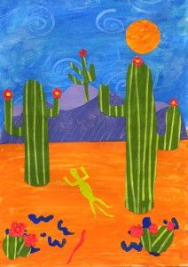Cactus Country Art Projects