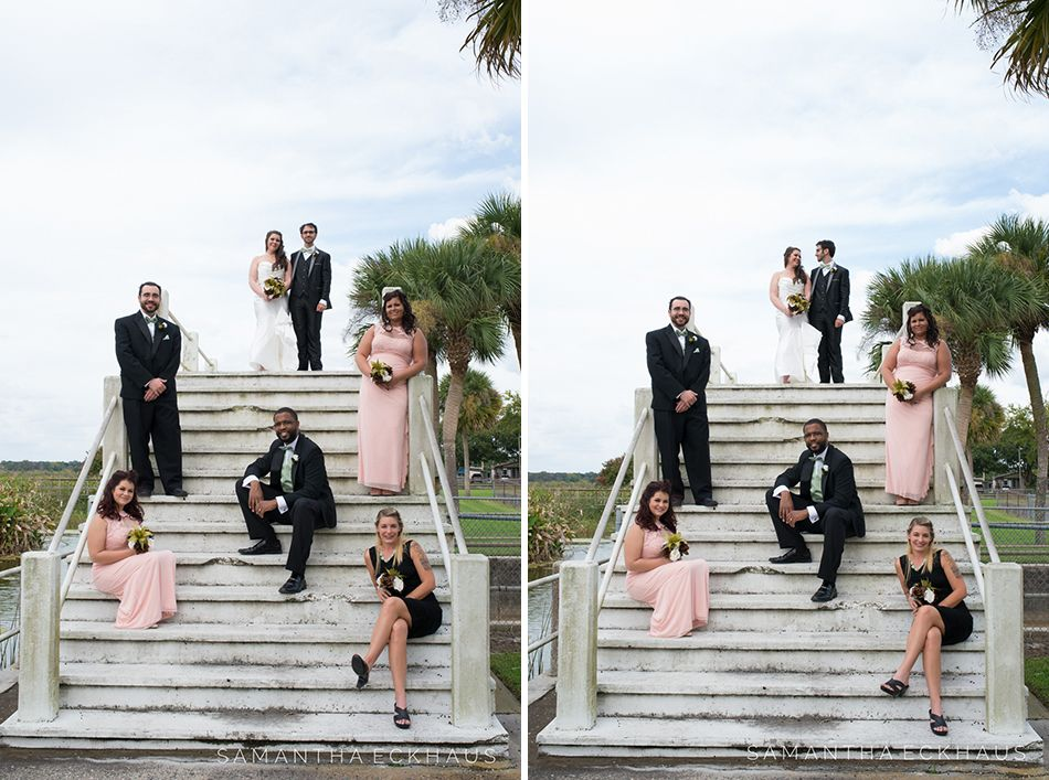 Tanner Hall Wedding In Winter Garden Florida With Mustard Green And Maroon Fl Light