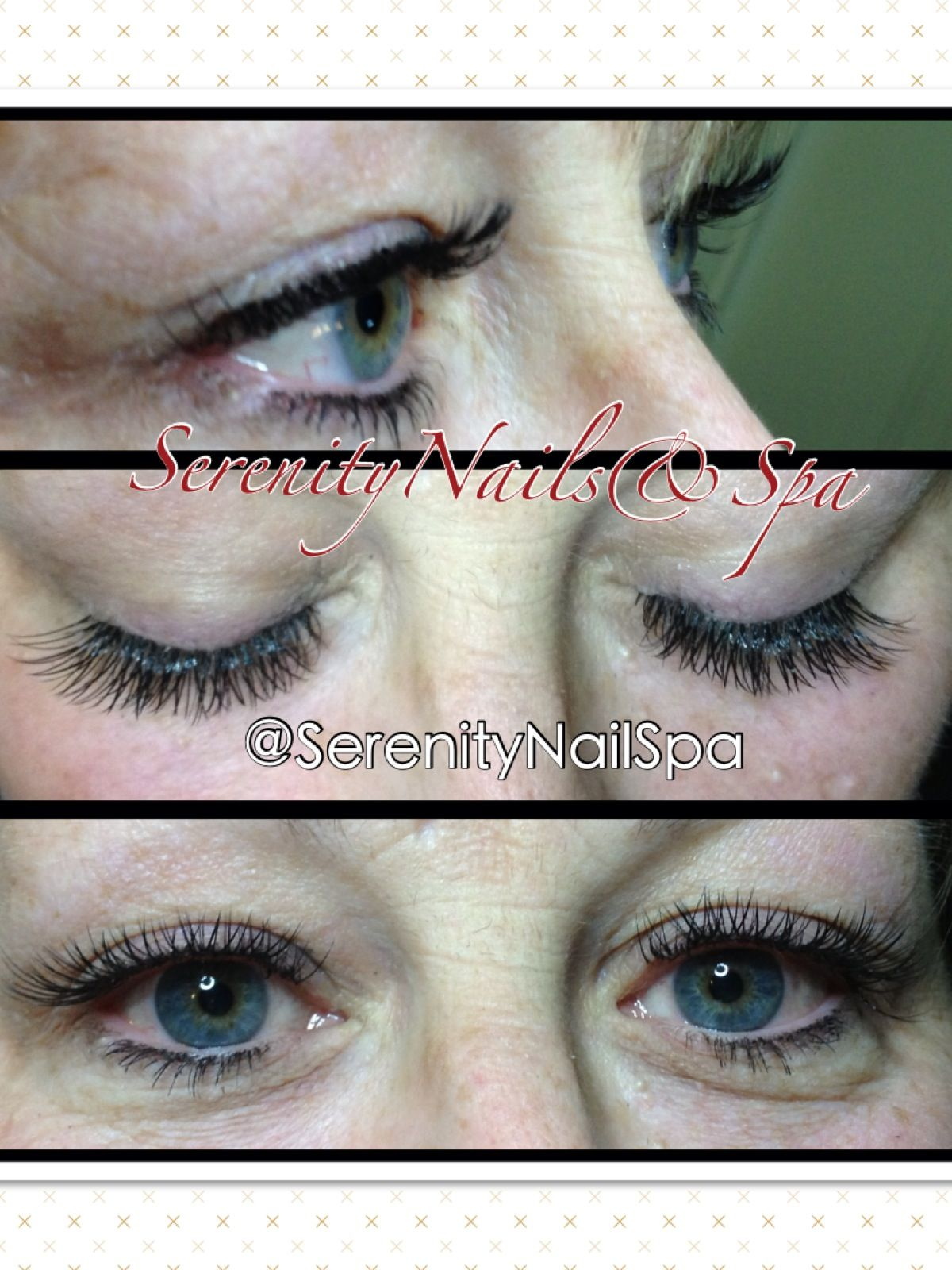 Mixed Glamour Set. #LashExtensions #lashes