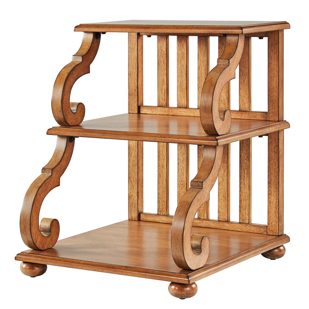 Küchendesign mit minibar ravenswood carved detail tiered accent table oak  inspire q