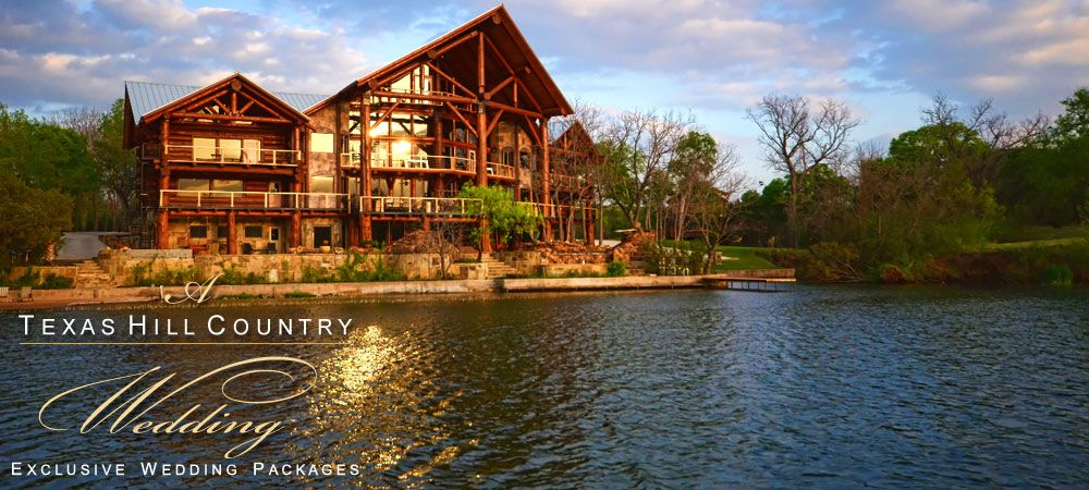 A Texas Hill Country Wedding Exclusive Venue Packages Lake Lbj Timber Lodge