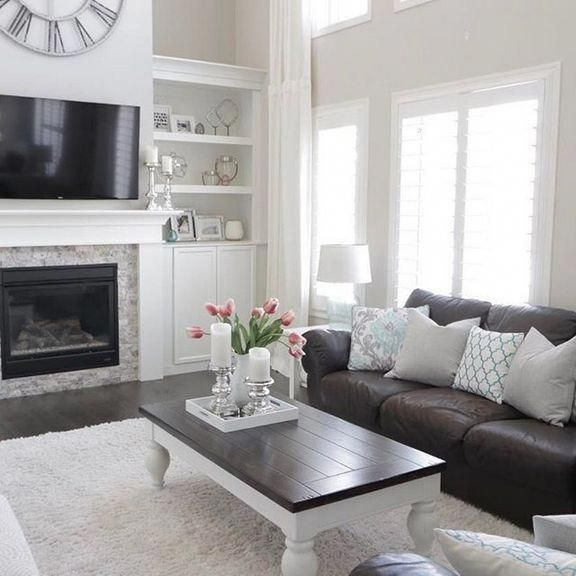 39 the birth of dark brown couch living room color on small laundry room paint ideas with brown furniture colors id=98812