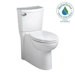 American Standard Cadet 3 Decor Tall Height 2 Piece 1 28 Gpf Single Flush Elongated Toilet With Seat In White Seat Included 715aa 001 020 Toilet American Standard Bath Inspiration