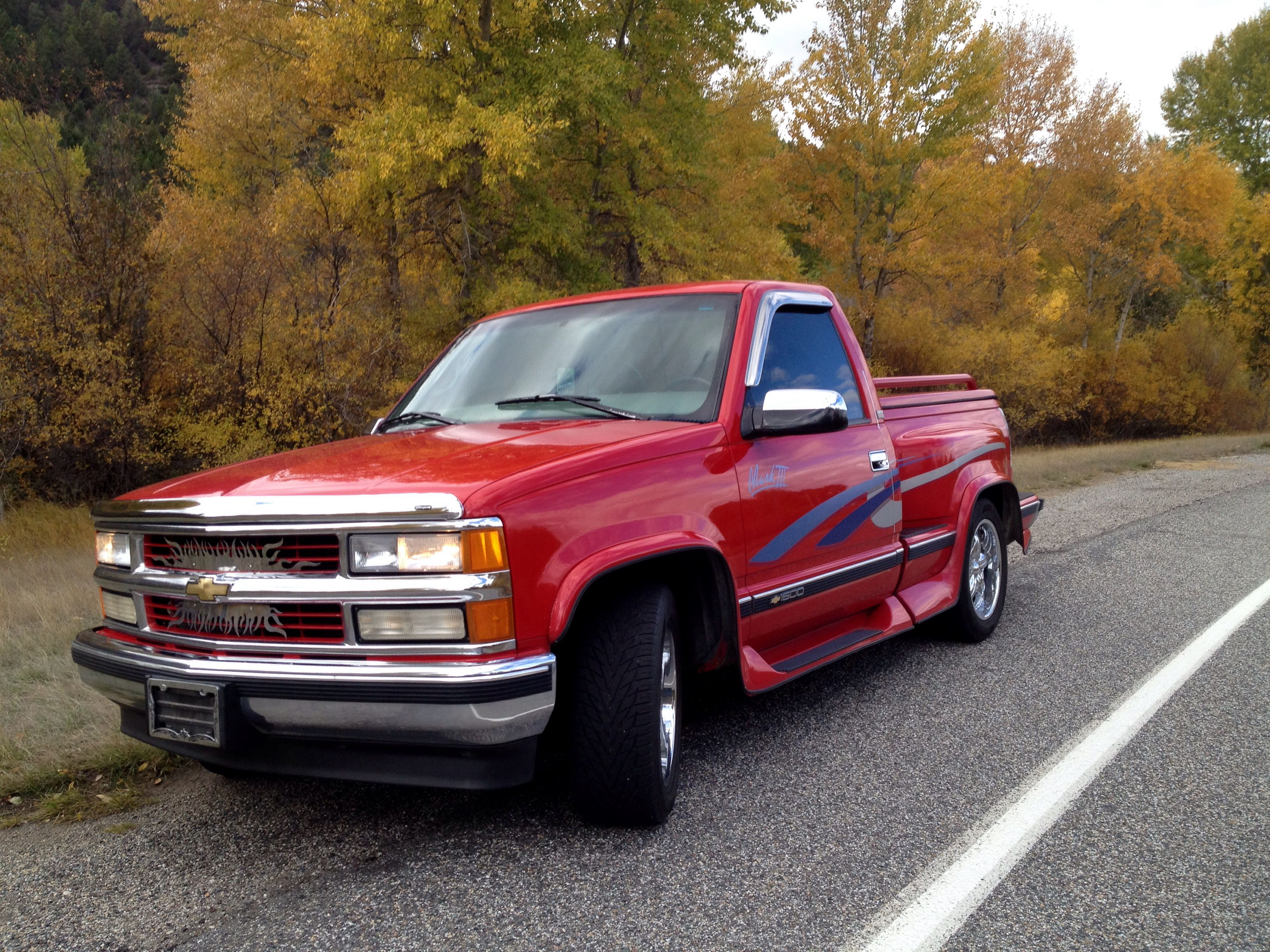 97 Chevy Silverado 1500 With 350 Vortec Motor And Mark Iii Package