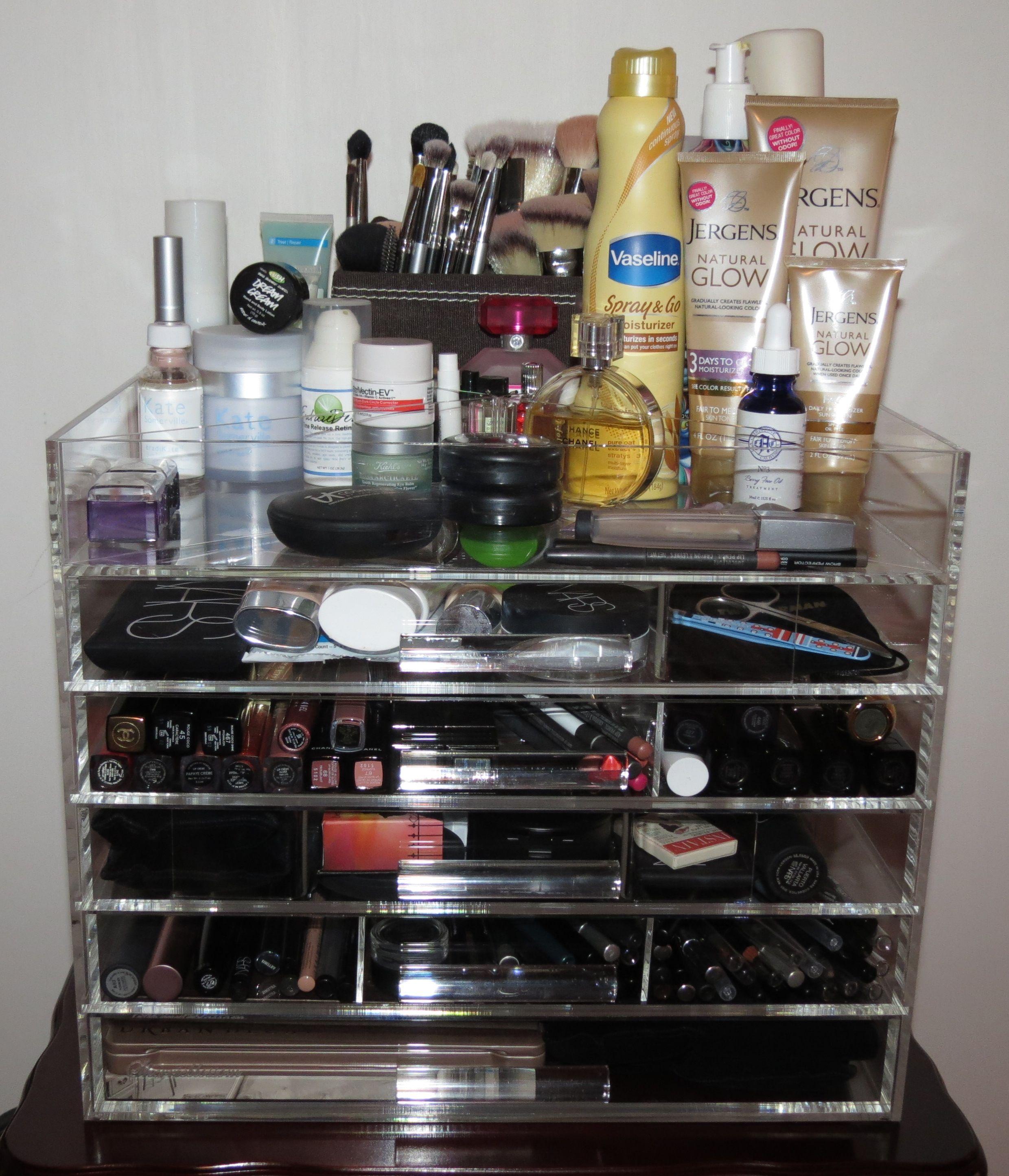 Makeup Organizers Target Magnificent Sherrieblossom Icebox Makeup Organizer Photos & Review  Pinterest