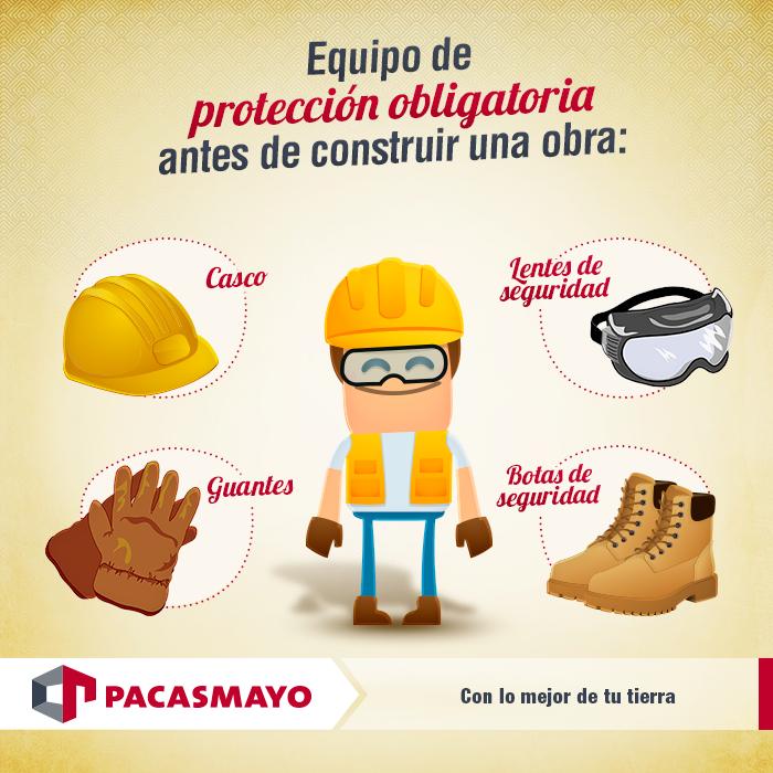 Equipo De Proteccion Obligatoria Antes De Construir Una Obra Equipo De Seguridad Equipo Cimientos