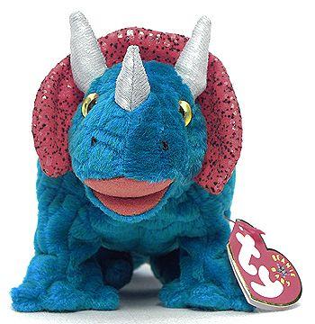 Hornsly - Dinosaur - Ty Beanie Babies ( OMG I need him )  4e2cd0252893