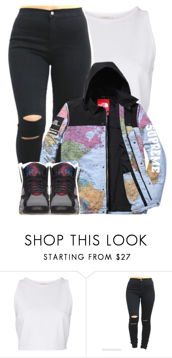 """""""Get Away """" by pvrtynextdoor ❤ liked on Polyvore featuring Witchery, The North Face, women's clothing, women's fashion, women, female, woman, misses and juniors"""