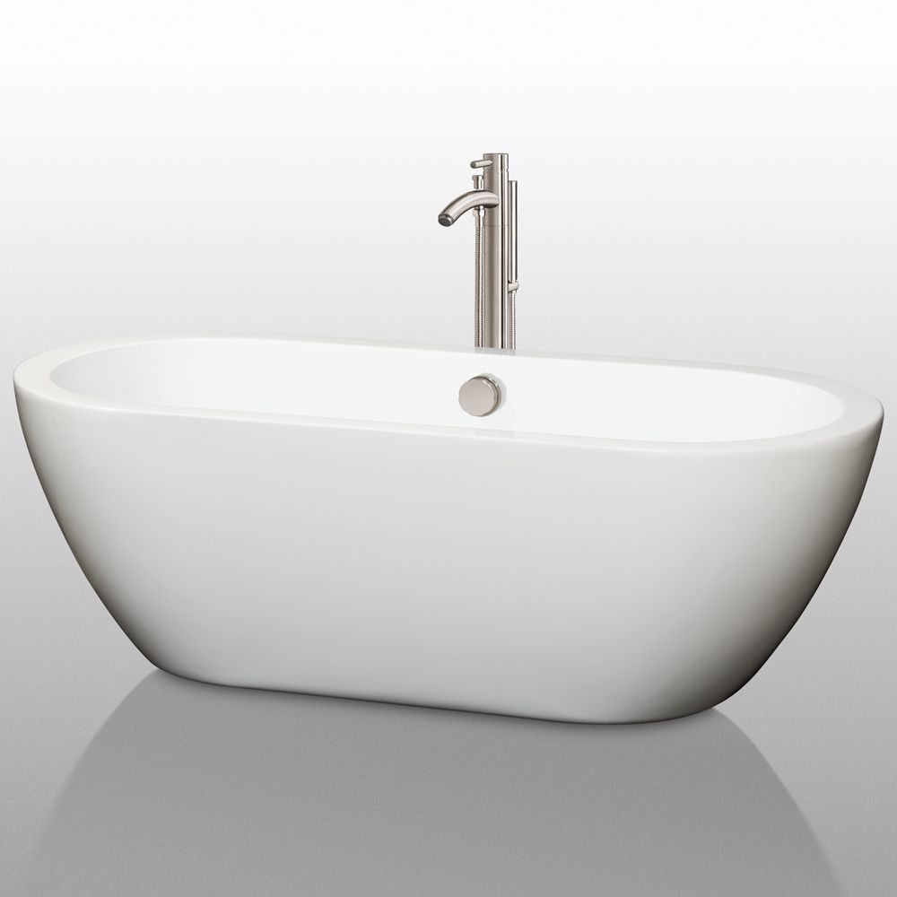 Soho Soaking Bathtub | Freestanding Bathtubs - Wyndham Collection ...