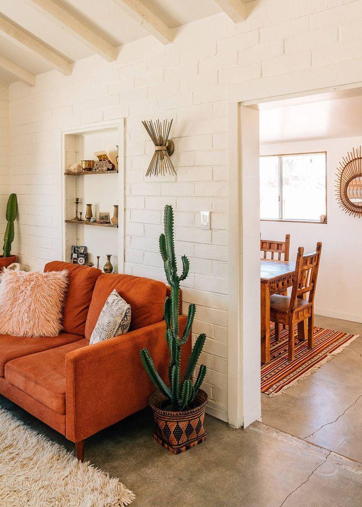 Inside an Insanely Chic Airbnb in Joshua Tree, California | MyDomaine  #home #decor #idea #interior #decoration #remodel