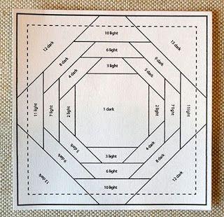 Pineapple Paper Foundation Quilt Block Tutorial Foundation Quilt Blocks Paper Pieced Quilt Patterns Quilt Block Tutorial