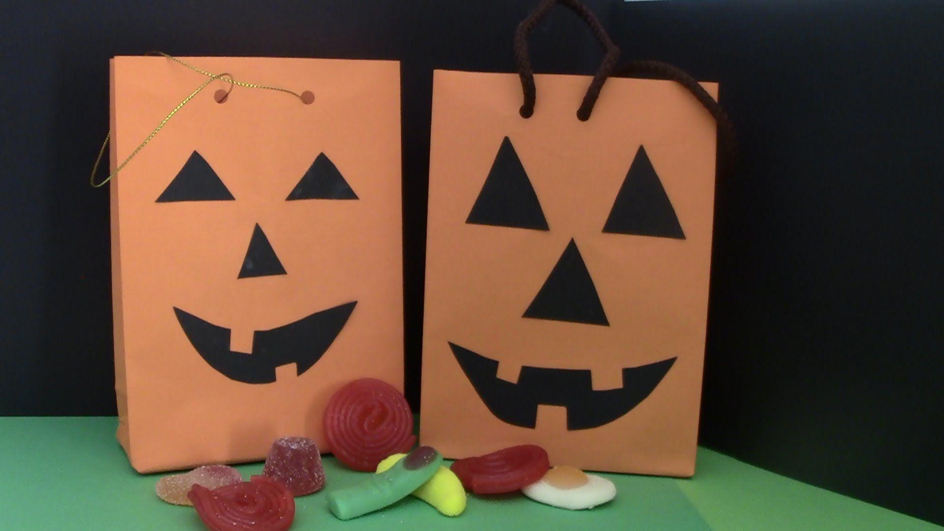 Bolsa para dulces - dia de halloween