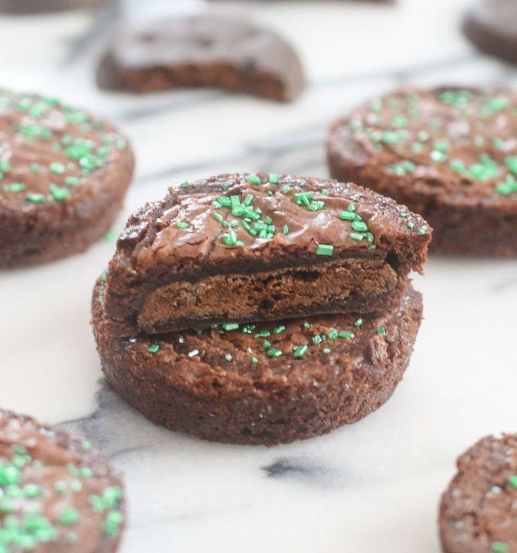 Brownie Covered Thin Mints | Kirbie's Cravings | A San Diego food blog
