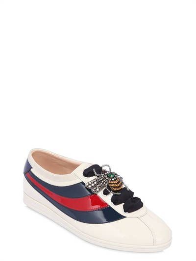 10MM FALACER PATENT LEATHER SNEAKERS