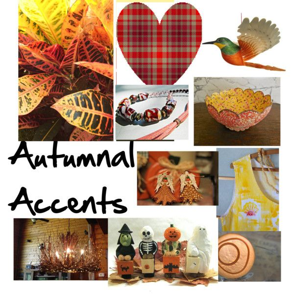 Autumnal Accents by petrina-kauai on Polyvore