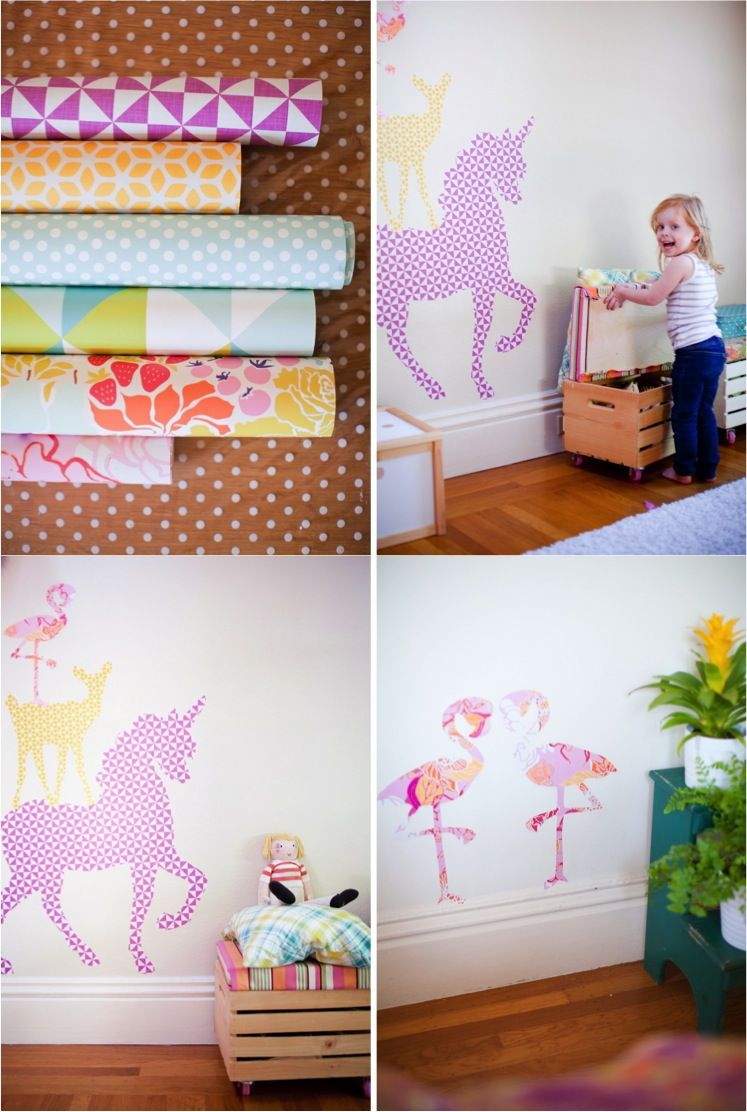 Best Diy Giant Animal Wall Stickers With Free Printables Diy Wall Stickers Diy Kids Room 400 x 300