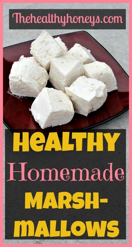 Healthy Homemade Marshmallows - The Healthy Honeys