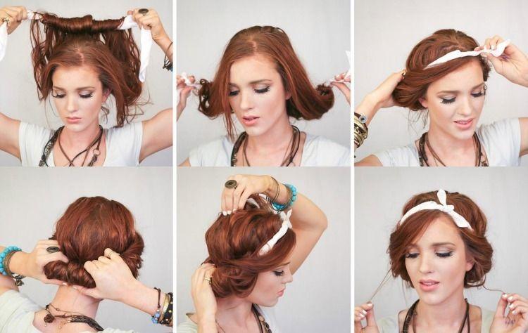 Frisur Mit Haarband Lange Haare