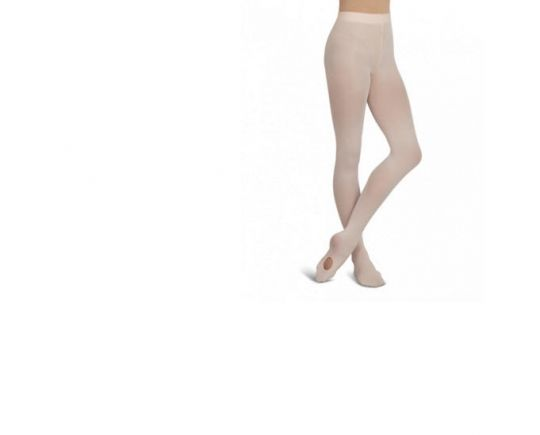 1916X Capezio Ultra Soft Transition Tights with Knit Waist for Girls New 1916C