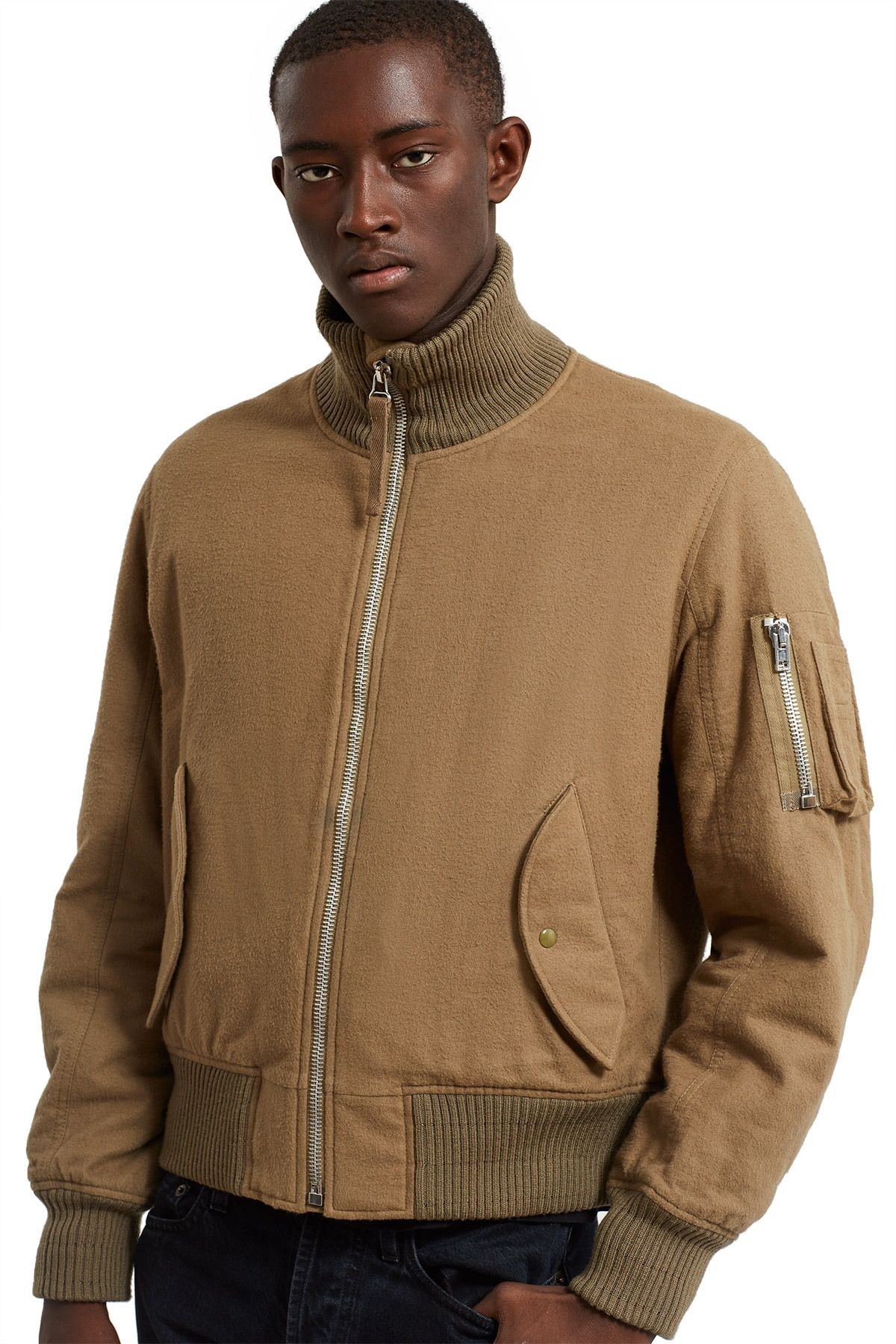 33b9a1aa6 Helmut Lang RE-EDITION, High Collar Bomber First produced in 2003 ...