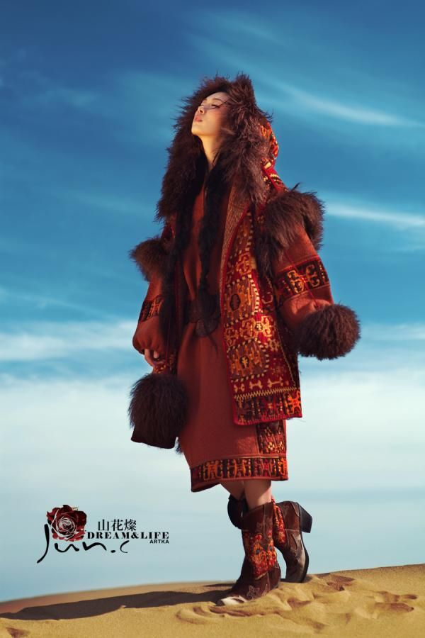 Fashion shots for Dream & life brand under Artka. Photography by Jun Chen. Models:Zou Fang & Nastya.
