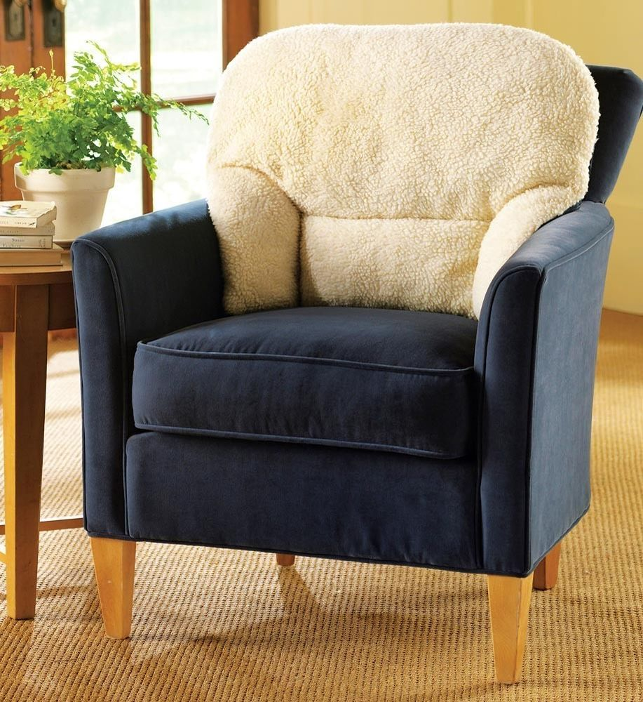 Orthopedic Back Support Conforming Fleece Pillow Chair