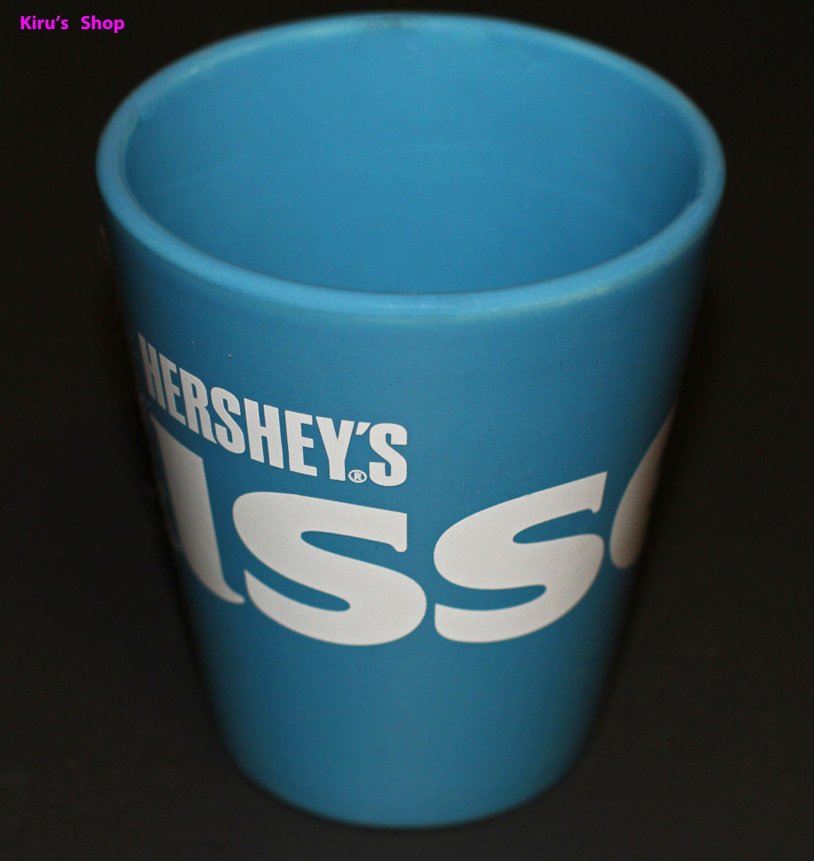 Blue & White Hershey's Kiss Mug, Hershey's Chocolate Logo