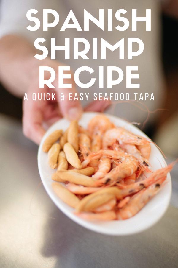 Perfect Boiled Shrimp Gambas Cocidas