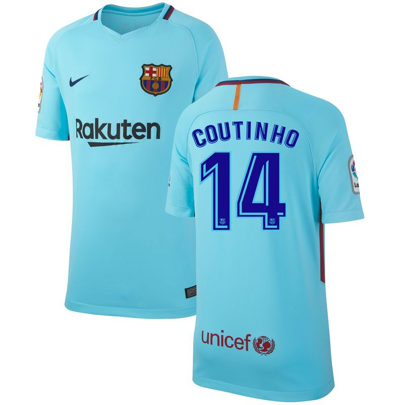 outlet store sale 171ff 3151c Philippe Coutinho Barcelona Nike Youth 2017/18 Away Stadium ...