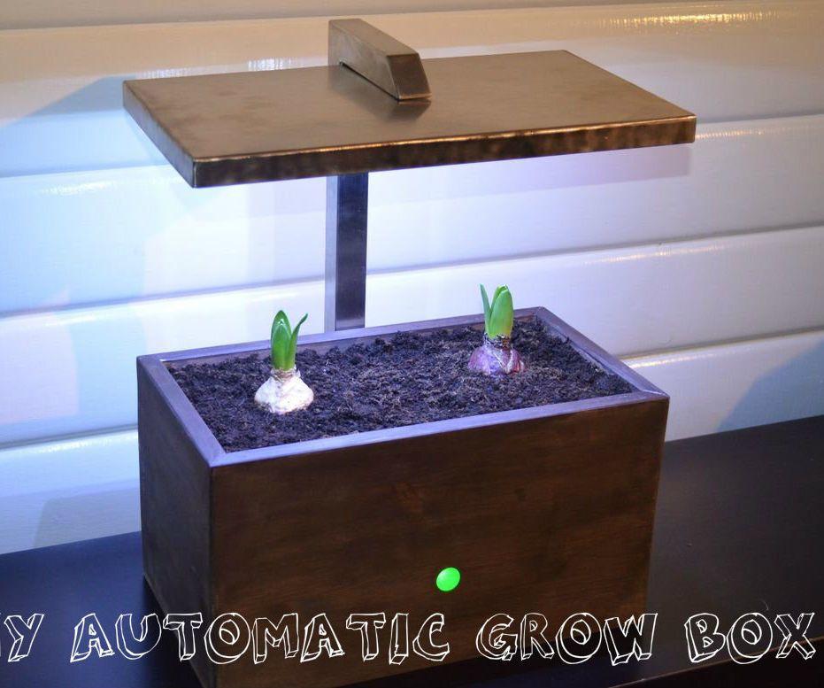 Diy Arduino Automatic Grow Box Grow Boxes Indoor Gardening Diy