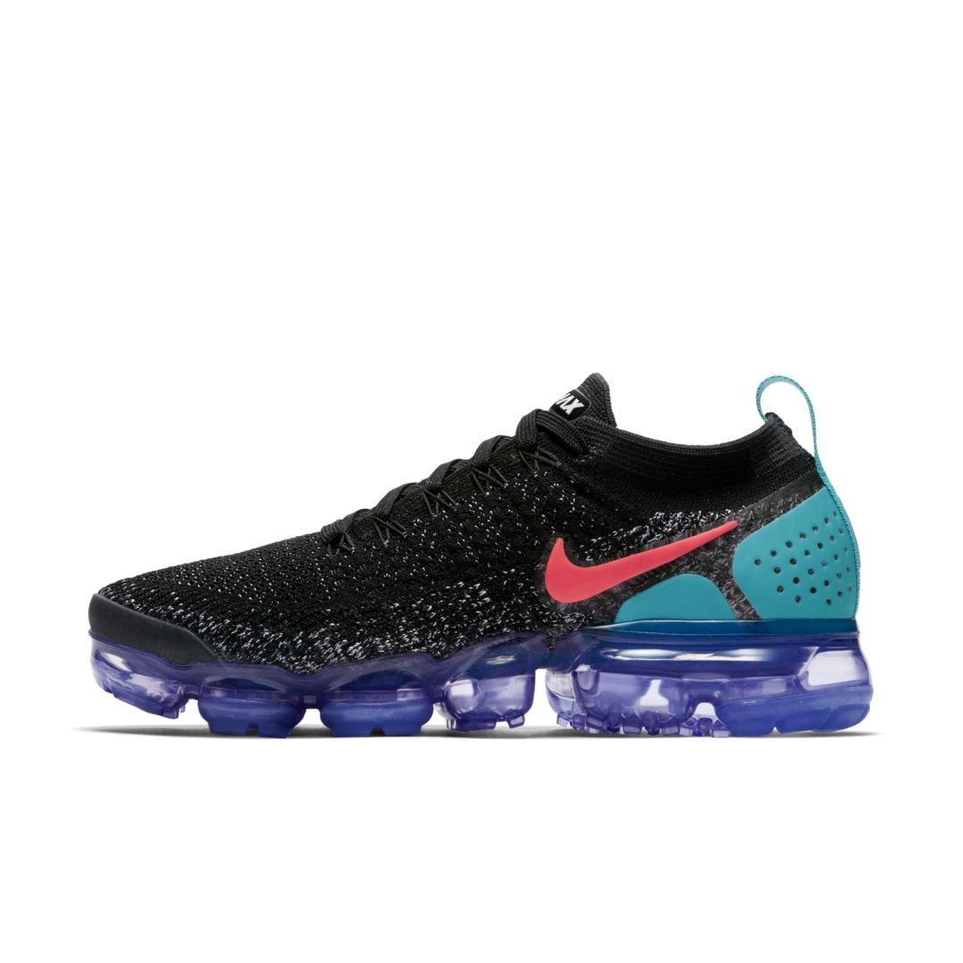 huge discount 74af1 d7eb4 Nike Air VaporMax Flyknit 2 Metallic Women s Shoe Size 7.5 (Black)