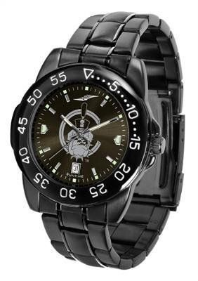 Citadel Bulldogs Men's Logo Watch by SunTime. $70.95. Officially Licensed The Citadel Bulldogs Men's Stainless Steel Watch. Linked Steel Band. Adjustable Band. 3 Year Limited Warranty. Men. Citadel Bulldogs Men's Logo Watch. The FantomT boasts a bold but not in-your-face image of Bulldogs logo in metallic silver on a black Ano-Chrome dial. The watch features a dark gunmetal finish, a date calendar display and a rotating bezel/timer that circles the scratch-resistant gla...