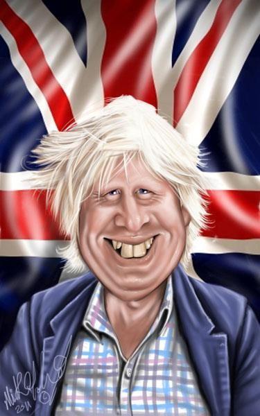 Resultado de imagen para Caricaturas últimas de Boris Johnson