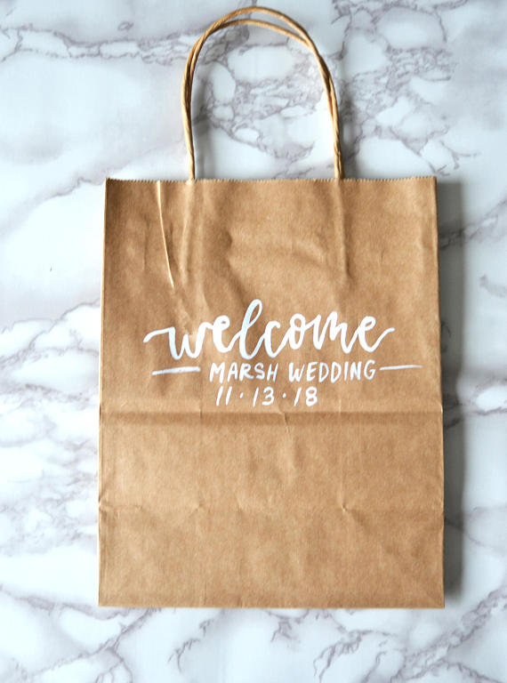 Custom Welcome Bags Wedding Gift Bags Personalized Gift Bags